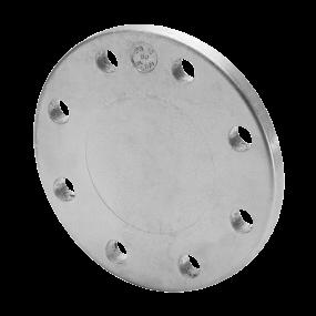 Blind aluminiun flange – ISO dimensions
