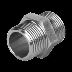 Hexagonal nipple (forged)