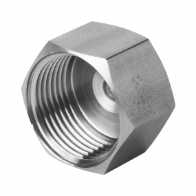 Threaded cap (forged)