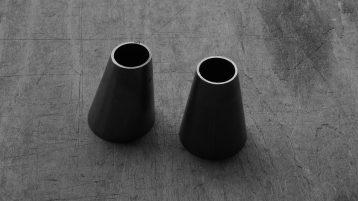 Coni di riduzione per collegare tubi di diverso diametro