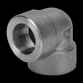 Socket welding 90° elbow