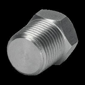 Hexagonal plug class 3000 NPT